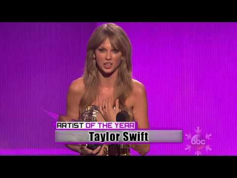 Taylor Swift - Wins Artist Of The Year  AMA American Music  Awards 2013