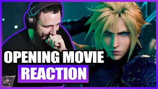 FINAL FANTASY VII REMAKE - Opening Movie Reaction | MystaGaming