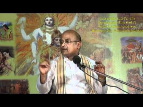 Day 6 of 7 Virataparvam by Sri Garikapati Narasimharao at Undrajavaram (Episode 23)