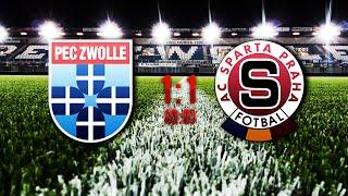 PEC Zwolle - AC Sparta Praha | 1:1 |