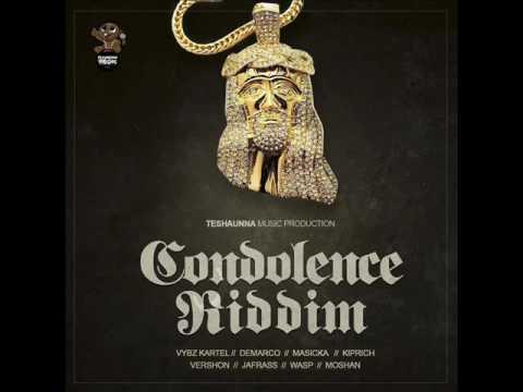 Condolence Riddim Mix (Full) Feat. Vybz Kartel, Demarco,&More..(Teshauna Music Prod.) (October 2016