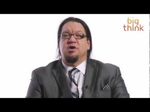 "Atheist magician Penn Jillette questions Christian logic and the so-called War on Christmas: ""Why leave me out? Why do that? What's your motive? And trying t..."