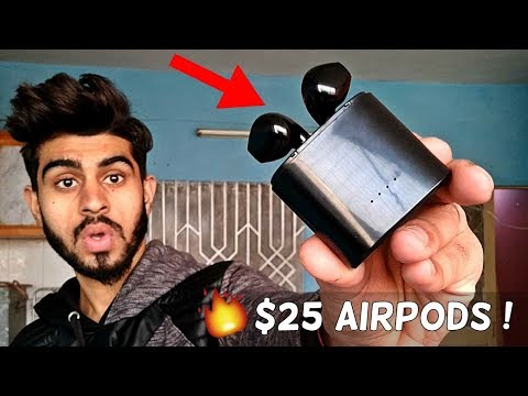 $25 AirPods !! | Better Then Apple AirPods? | HBQ I7s Airpods Review | Earphone Review 2018! |