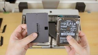 Cum sa faci upgrade / instalezi un SSD in Apple iMac 21.5