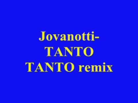 Jovanotti tanto tanto remix