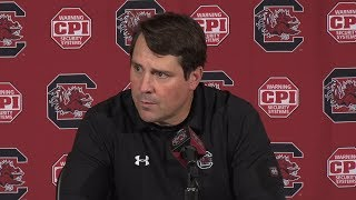 POST-GAME: Will Muschamp on Wofford — 11/18/17