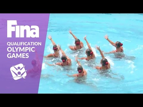 Re-live: Team Technical - FINA Synchronised Swimming Olympic Games Qualification - Rio De Janeiro