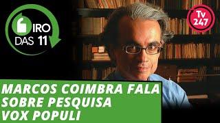 Giro das 11h: Marcos Coimbra, da Vox, fala sobre a liderança de Haddad