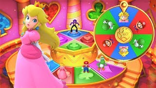 Mario Party 10 - Airship Central - Peach Gameplay
