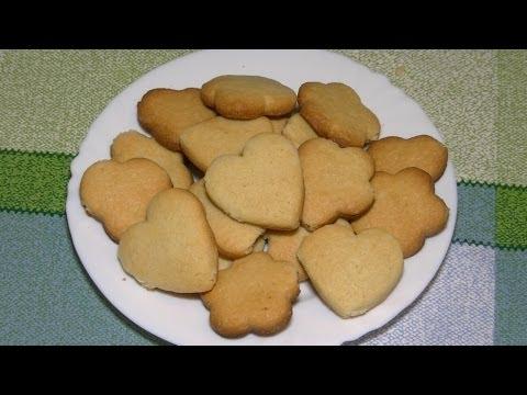 Как приготовить печенье дома - видео