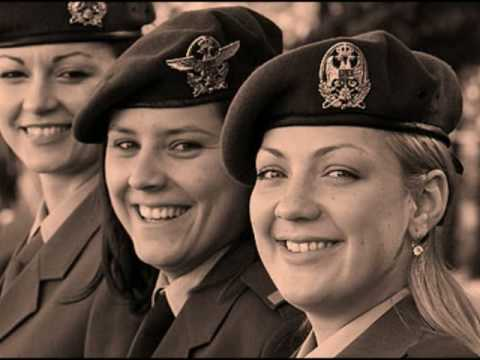 Women in the Russian and Serbian  military