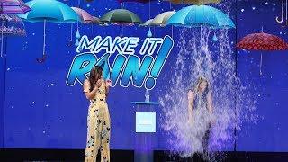 It's Splash or Cash in a Round of 'Make It Rain'!