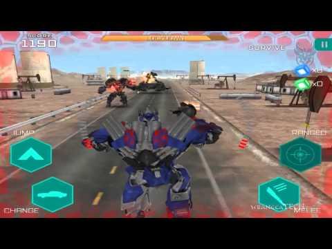 Transformers: Age of Extinction - Optimus Prime VS Lockdown