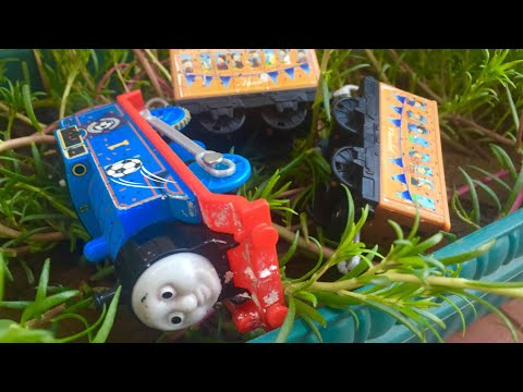 Thomas and Friends Accidents Will Happen Thomas Annie and Clarabel Crash Toy Train Videos