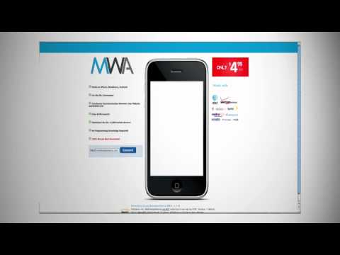 0 Create a Mobile Website Automatically using Mobile Web Americas technology