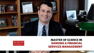 John Sullivan: Master of Science in Banking and Financial Services Management