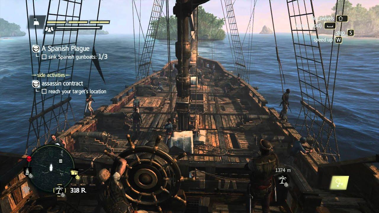 Assassins Creed IV Black Flag Sink Spanish Gunboats