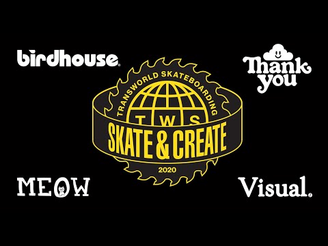 Skate and Create 2020 PREMIERE + Q&A With Birdhouse, Thank You, Meow, & Visual Teams.