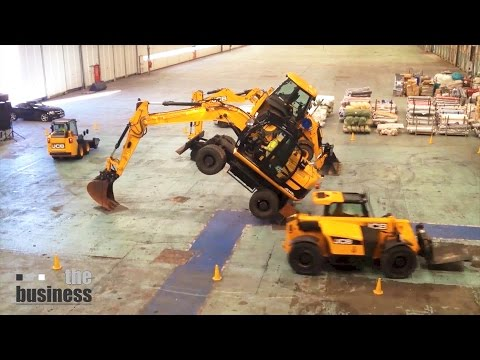 Event agency The Business Creative created this stunning spectacular featuring the world-famous JCB DANCING DIGGERS and the mesmerising Scottish dance troupe FEAR OF THE UNKNOWN plus freerunning...