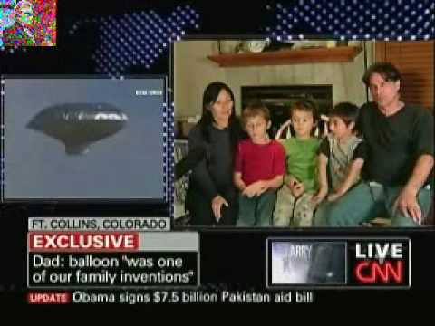 """Balloon Boy"" Family on ""Larry King Live"""