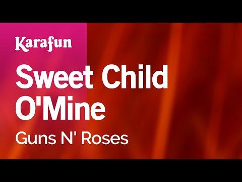Karaoke Sweet Child O'Mine - Guns N' Roses *