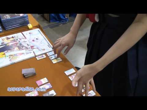 Teach me Koi Koi Lady! Summer Wars Hanafuda Tutorial at Katsucon 2011