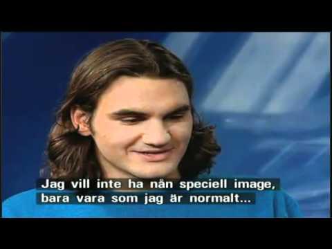 2000 ロジャー フェデラー Stockholm Interview テニス Image Talk - Young フェデラー Precious Memory
