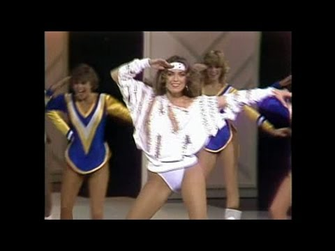 CATHERINE BACH & THE NFL RAMS CHEERLEADERS (1984)