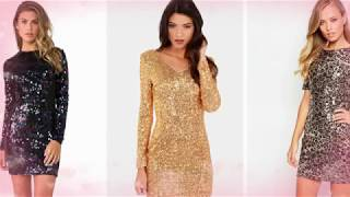 Top Sequin Dress For Women