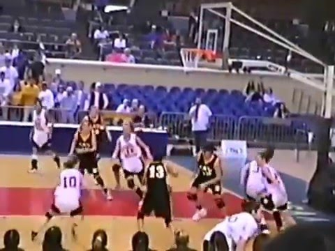 1999-00 Stilwell Lady Indians vs Jay - Class 4A State Quarter-Finals - Girls Basketball