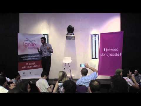 Ignite GeekFtour 2013 : Aymane Boubouh, Quel est la langue du Geek Marocain ?