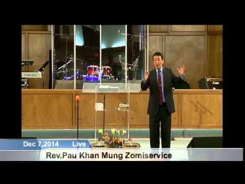[FGATulsa]#1103#Dec 7,2014 Zomi Service (Pastor Pau Mung)