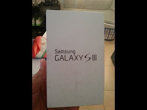 Cricket 4G LTE White Samsung Galaxy S3 Unboxing SCH-R530C