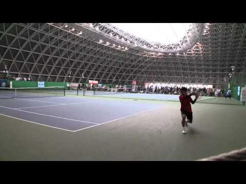 テニス日本リーグ セカンドステージ 3日目 シングルス1