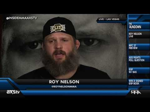 What Has Gotten Into Roy Nelson?