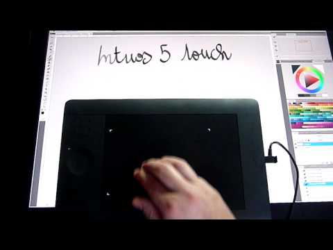 Wacom Intuos 5 touch - Small Size