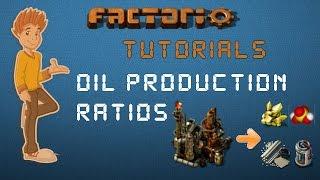 Oil Production Ratios - Factorio Tutorial