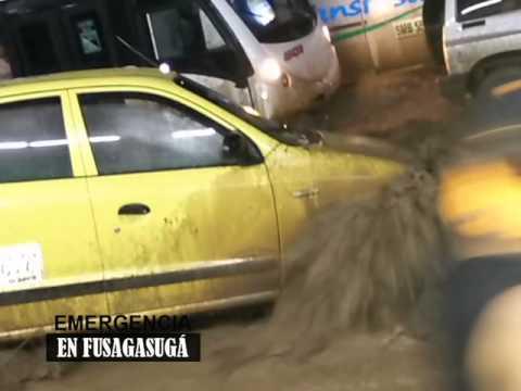 EMERGENCIA EN FUSAGASUGÁ - AVALANCHA POR DESBORDAMIENTO DE QUEBRADAS