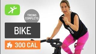 Aula de Spinning para Emagrecer! 300 kcal - Aula de Bike