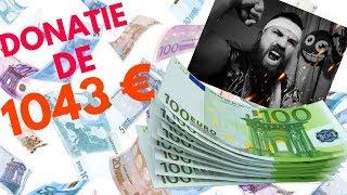 AM PRIMIT DONATIE DE 1043 DE EURO!!! - Stefan Remag