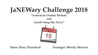 JaNEWary Challenge Day 15 – Teaching Video
