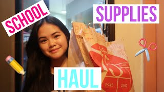 Back-to-School Supplies Haul 2018 (Philippines)