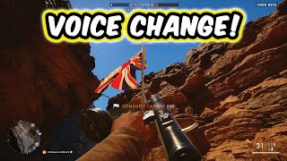 SEXY LADY ANNOUNCER/VOICEOVER CHANGE! - Battlefield 1