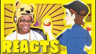 McDonalds Anime Commercial Part 2 Reaction