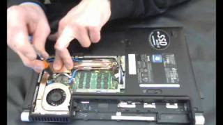 Dell XPS M1330 Notebook watercooling MOD, the little How to