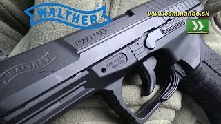 Airsoft pistol Walther P99 DAO CO2 GBB 6mm
