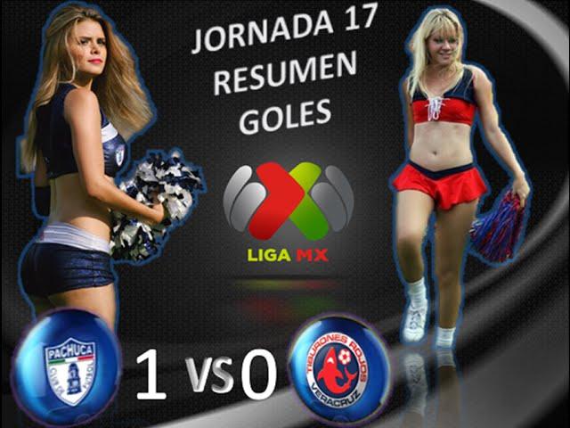 Pachuca vs Veracruz 1-0 GOL y RESUMEN Jornada 17 Apertura 2014 Liga MX | HD