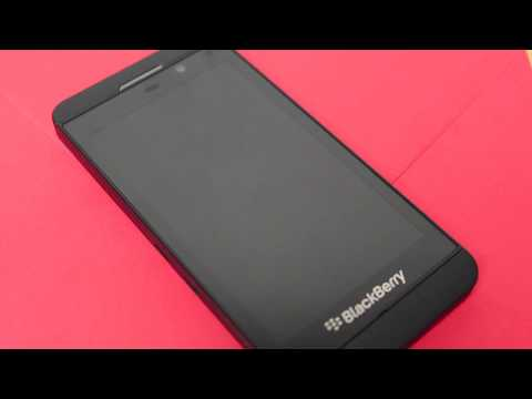 Blackberry Z10 Security wipe - How to reset your Blackberry Z10