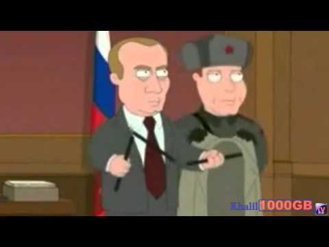 vladimir putin in family guy + (Russian reacting )