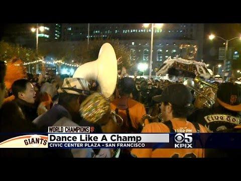 Fans Celebrate Giants World Series Win Across San Francisco